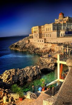 Santa Cesarea Terme, salento, the heel of the Italian boot, Puglia