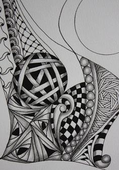 Tineke's Creations: Zentangle