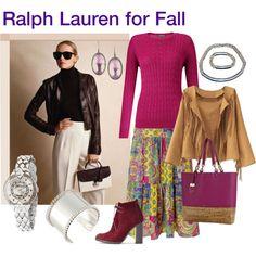 """""""Ralph Lauren for Fall"""" by melange-art on Polyvore"""
