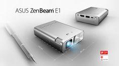 Asus dévoile ZenBeam E1, Videoprojecteur de Poche LED pour Mobile, PC, Clé HDMI