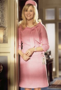 Reese Whiterspoon in Legally Blonde II-Love the blonde and pink take on Jackie O.