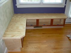 banquette - for structure only