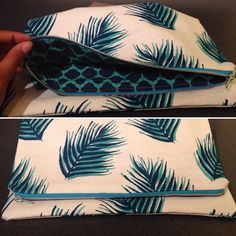 I'm up way past my bedtime but that's okay because I made this sweet ass clutch ! #crafty #diy #mimigstyle #sewing #tiredbuthappy by aj_wahu