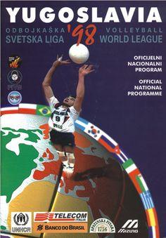 1998 World League Intercontinental Round poster.