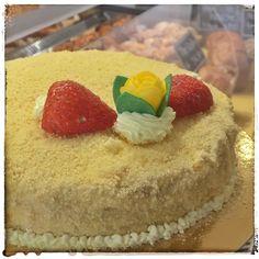 Torta mimosa @farinanelsaccotorino #lottomarzo anche così