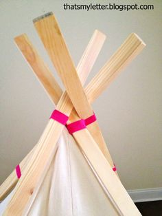 Easiest Play TeePee Tutorial - found this...looks doable & cost effective.  :-)