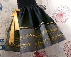 Hobbit Lord Of The Rings Lady Of The Rings Geek Skirt by Roobys, £40.00