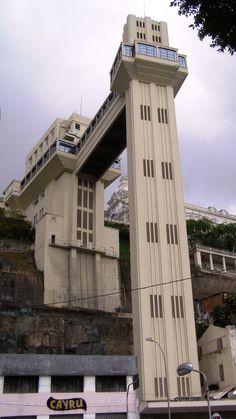 Art Deco - Elevador Lacerda - Bahia - Brasil