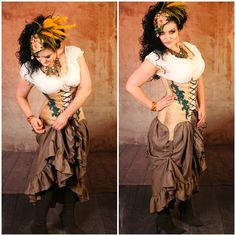 Quality Handmade Corsets for vibrant, passionate women who want an adventure-filled, romantic life! Sizes up to Styles in Steampunk, Renaissance, Pirate! Damsel In This Dress, Pirate Fairy, Steampunk Pirate, Renaissance Fashion, Bustiers, Corsets, Bodice, Halloween Costumes, Vibrant