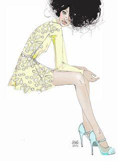 .: Sara Ligari Fashion Illustrations
