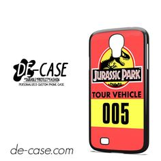 Jurassic Park Tour Vehicle DEAL-5997 Samsung Phonecase Cover For Samsung Galaxy S4 / S4 Mini