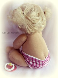 baby doll PDF Pattern Jointed Waldorf Baby Pacifier Baby Also includes the diaper pattern. **Please note this is a PDF Pattern and not the finished toy. No refunds for pattern purchases. Pattern Baby, Baby Patterns, Doll Patterns, Doll Crafts, Diy Doll, Doll Making Tutorials, Sewing Basics, Basic Sewing, Sewing Dolls