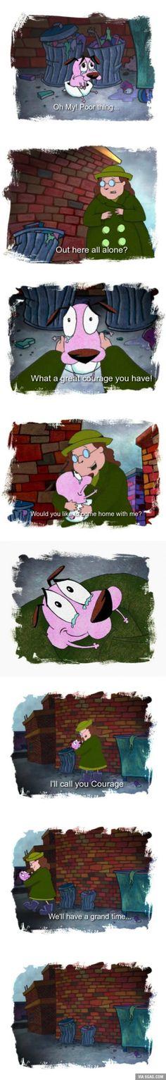 awwwwwwww ;-; this was always cute