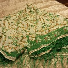 Stunning scarf/wrap Beautiful green wrap perfect for blouse or wrap around dress or swimsuit Accessories Scarves & Wraps