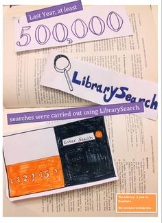 Last week in one day  alone we've had 10,000 searches on LibrarySearch!