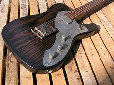 BlackBeard Guitars Burnt Pine Telecaster