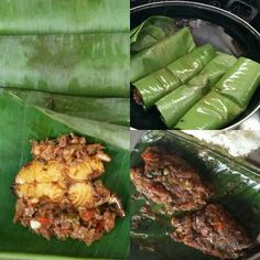 Sunday special :) Plantain leaf fish fry .. Fed up eating boring fish ...