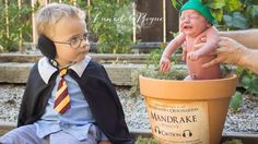 A baby Mandrake is the star of this magical 'Harry Potter' photo shoot Image: Lune de la rogue photography  By Chloe Bryan2016-07-15 17:32:00 UTC  Dont worry; this cute little Mandrakes cry wont kill you.  This week the Internet is spellbound by a set of Harry Potter-themed newborn photos  most notably featuring a little Gryffindor wearing ear protectors to shield him from the deadly cries of his newborn brother a Mandrake. (Quick reminder: the Mandrake is a plant with a root resembling a…
