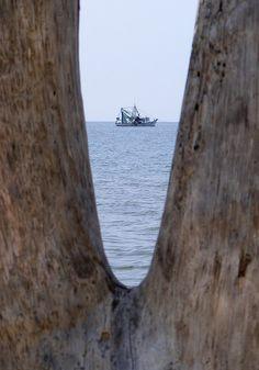shrimp boat off Dauphin Island, AL