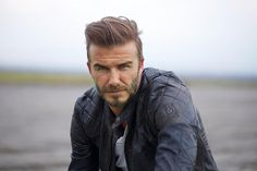 David Beckham in Outlaws, a short film out this month. All clothes by Belstaff. Photographed by Kat Irlin. David Beckham wears jacket, £1,250, t-shirt, £60, jeans, £255, and boots, £425, all Belstaff