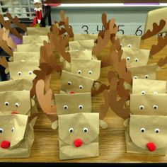 Rudolph paper bags