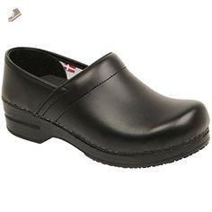 Smart Step By Sanita Women's Aubrey Leather Clog Black - Sanita mules and clogs for women (*Amazon Partner-Link)