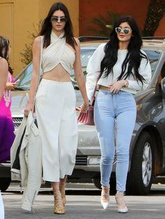 Kendall en Kylie Jenner