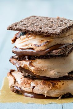 the ultimate chocoholic s'mores