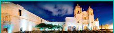 Santo Domingo de Guzmán en Oaxaca, Ciudad Mexicana Patrimonio Mundial.   Localización:  El Templo y Ex-convento de Santo Domingo de Guzmán forma parte de un conjunto cultural que incluye el Museo de las Culturas de Oaxaca y el Jardín Etnobotánico, así como la biblioteca Fray Francisco de Burgoa y la Hemeroteca Pública de Oaxaca Néstor Sánchez.