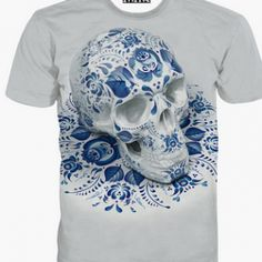 Innervation Skull Head 2016 New Summer Style Men s T-shirts Fashion Casual  Cool Fit Mens Shirts Short Sleeve Top Tees T-shirt 8abbd65a7
