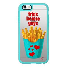 iPhone 6 Plus/6/5/5s/5c Case - Fries Before Guys - Foodie Valentine's ($40) ❤ liked on Polyvore featuring accessories, tech accessories, iphone case, iphone cover case, iphone cases, iphone hard case and apple iphone cases