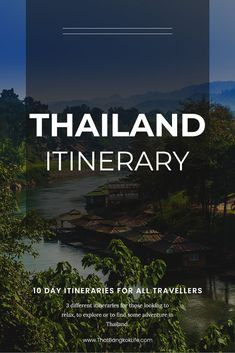 Thailand is an incredible place to explore and we love living here. There are lots of places to visit so we have put together 10 days in Thailand – 3 different itineraries, depending on the type of traveller you are.   #Thailand #Bangkok #ChiangMai #ThailandThingsToDo #ThailandTravel #ChiangRai #Phuket #Krabi