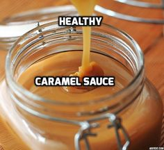 """Healthy Caramel Sauce tastes just like the """"real deal,"""" yet it is based on dates. It is vegan, gluten-free and raw."""