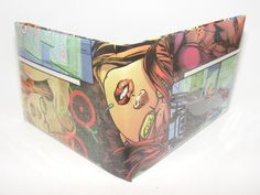 Comic Book Wallet// Oracle by micahmyers on Etsy, $3.00