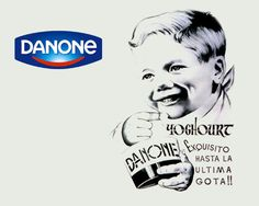 Resultado de imagen de cartel danone 1920
