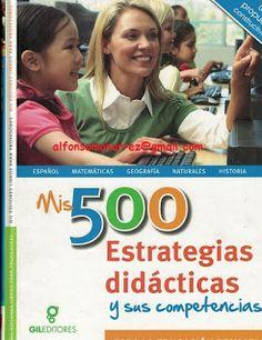 LIBROS: 500 ESTRATEGIAS DIDÁCTICAS Y SUS COMPETENCIAS Para...