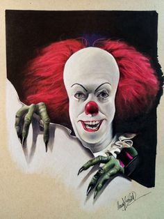 Pennywise The Clown by eksdeth