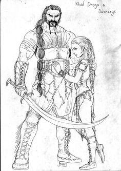 Khal Drogo & Daenerys Targaryen - Game of Thrones - Giannis Roumboulias