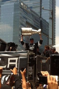 BECAUSE IT'S THE CUP!!!!!