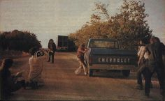 THE TEXAS CHAINSAW MASSACRE - BEHIND THE SCENE #movie #texas #chainsaw #massacre #set
