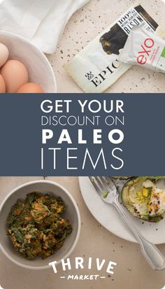 Stay lean, strong, and energetic. Get your paleo faves at prices up to 50% off on Thrive Market!