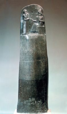 The Code of Hammurabi, First written law in human history. (From Ancient Mesopotamia)