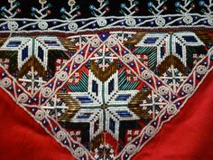 Relatert bilde Hardanger Embroidery, Beaded Embroidery, Folk Clothing, Belts, Bohemian Rug, Textiles, Jewellery, Band, History