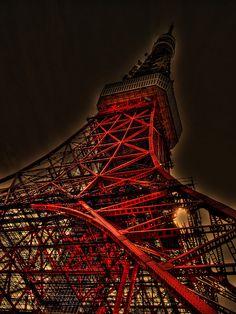 Tokyo Tower, Japan...