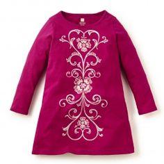 Fileteado Tshirt Dress   Tea Collection- for E