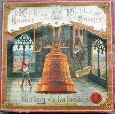 """KLOKKENSPEL"""": Oud spel """"klok en Hamer"""""""
