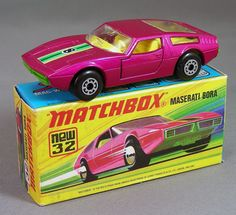 Maserati Bora1972--NÚMERO 32 SUPERFAST,DE MI PRIMER COLECCIÓN,CON APERTURA DE PUERTAS---UNO DE MIS PREFERIDOS Toy Model Cars, Model Cars Kits, Diecast Model Cars, Maserati Bora, Toys R Us Kids, Matchbox Cars, Metal Toys, Hot Wheels Cars, Toy Trucks