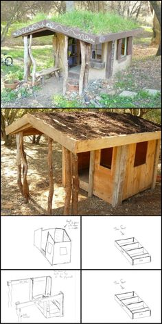 How To Build A Cob Playhouse http://theownerbuildernetwork.co/1ese Interested in building your own cob home? Practice on a small scale by building a cob playhouse!