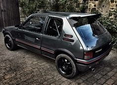 #Peugeot_205_GTi Peugeot 205 Gti, Car Mods, Nice Cars, Lowrider, Pug Life, Cars And Motorcycles, Rally, Dream Cars, Honda