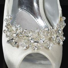Dreamy Wedding Shoe Decoration